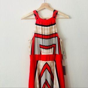 Eliza J A-Line Maxi Dress Size 10 NWT